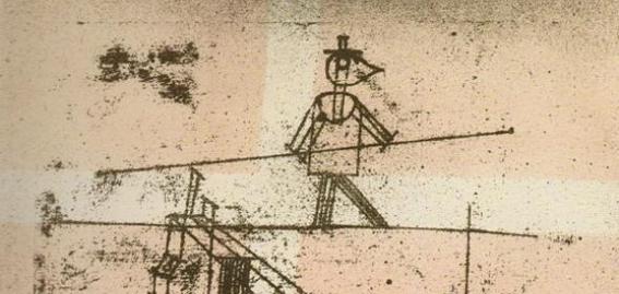 Paul Klee | El equilibrista (1923)