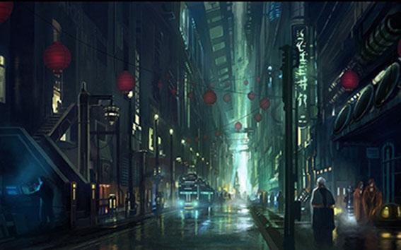 """LA como distopía ciberpunk en """"Blade Runner"""" wpgallery"""